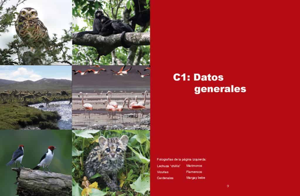 Datos Áreas Protegidas de Bolivia