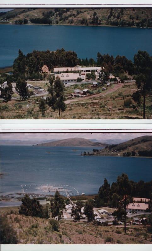 Centro Piscícola de Tiquina. Lago Titicaca. La Paz.