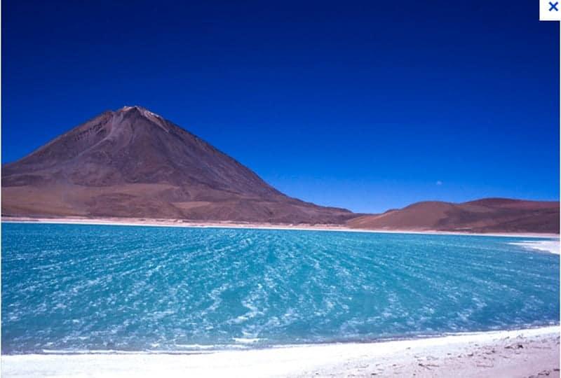 Laguna Verde. Oruro.