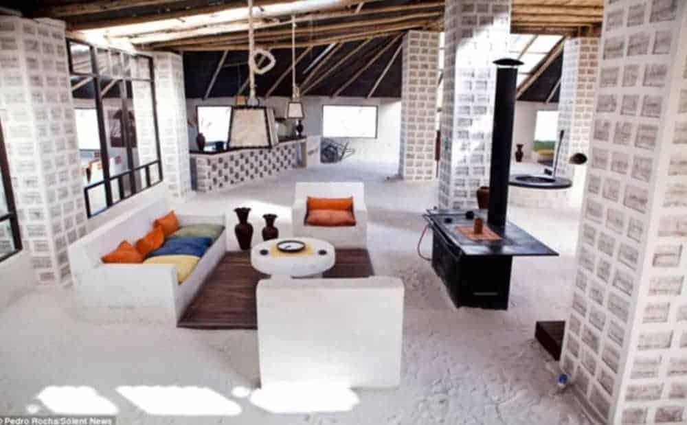 Hotel de sal en Uyuni.