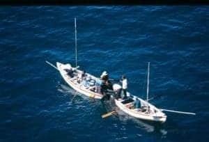 Pescadores del Lago Titicaca