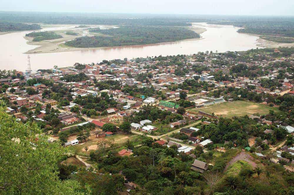 Población de Rurrenabaque.